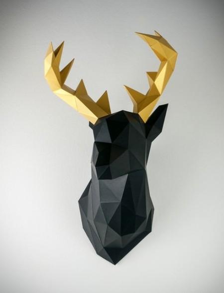 cervo-trofeo-carta-parete