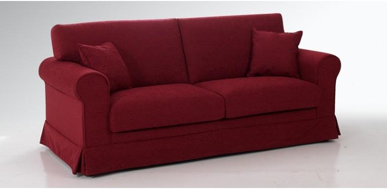 divano moderno design morbido e braccioli tondi