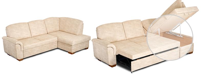 Divani letto facili da aprire divano artigiano for Letto in stile artigiano
