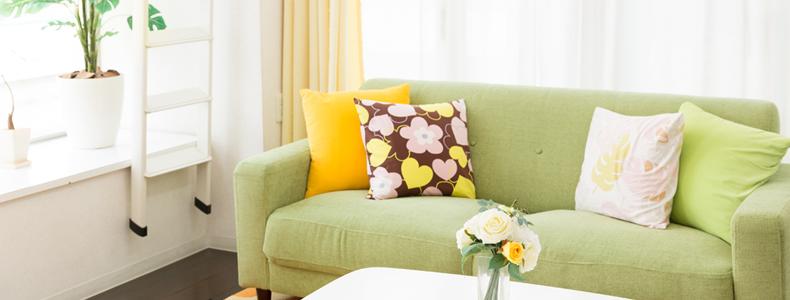 Divano verde: buonumore e benessere in casa!