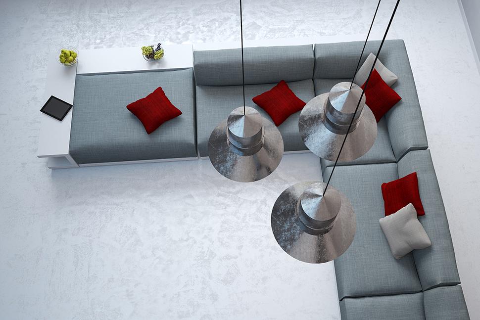 Luci da divano consigli per l illuminazione del salotto