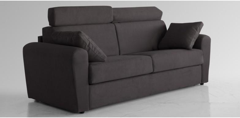 divano moderno con poggiatesta regolabile