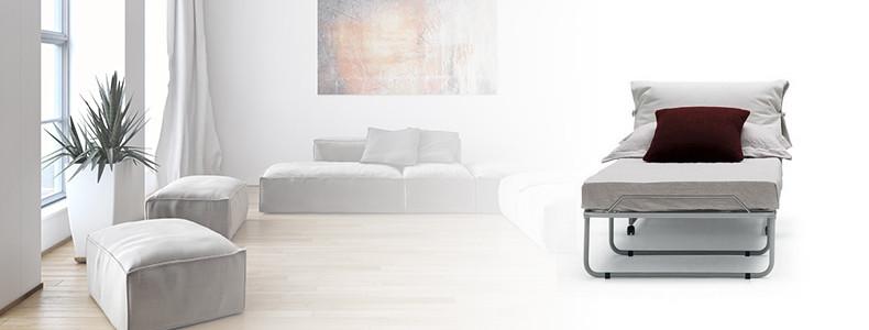 Pouf letto con contenitore - vendita online