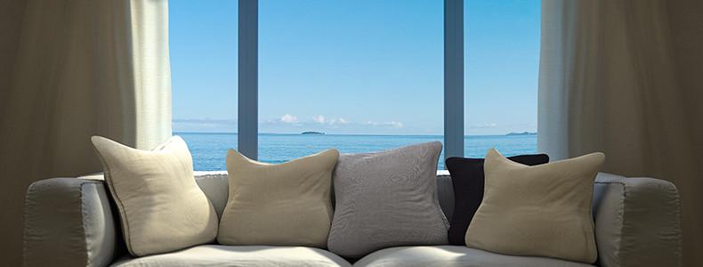 Divani e poltrone letto per l 39 arredamento della casa al mare for Divani per casa al mare