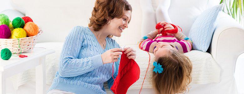 knittin fare maglia divano