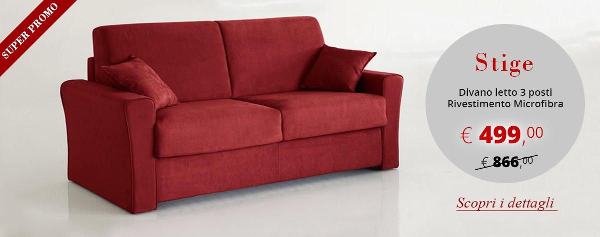 Divano Artigiano, lo specialista del divano letto
