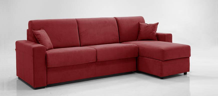 Ade divano letto con chaise longue contenitore 120 - Divano letto 120 cm ...
