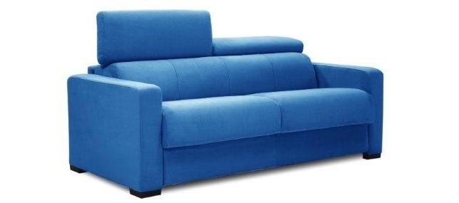 Gea divano letto 3 posti con materasso h18 - Materasso per divano letto 3 posti ...