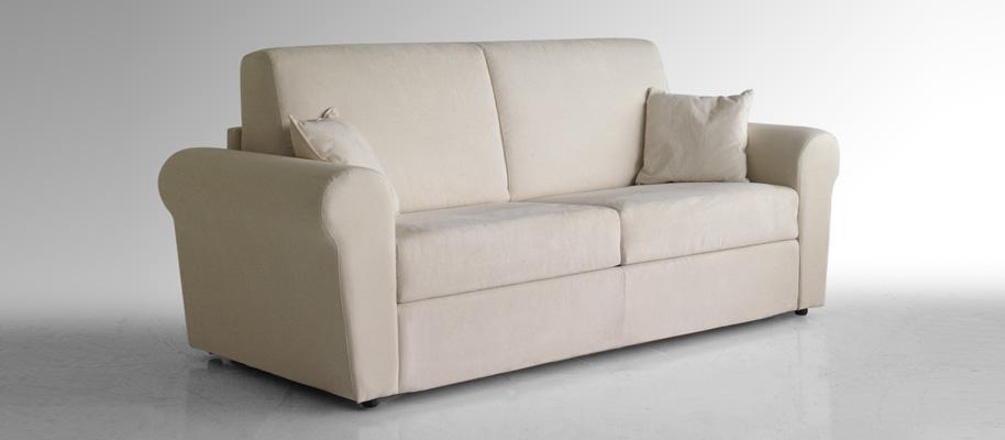 Lince divano letto 3 posti completo materasso e rete - Materasso per divano letto 3 posti ...